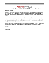Best Part Time Lot Associates Cover Letter Examples Livecareer