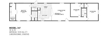 model 347 16x76 3bedroom 2bath oak creek mobile