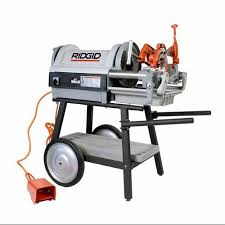 pipe threader stand. get quotations · sdt reconditioned ridgid 26092 1224 power pipe threading machine w/ 92462 150a sta threader stand