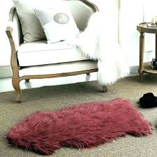 faux fur white rug red faux fur rug grey faux fur rug sheepskin grey faux fur