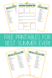 Bucket List Printable Template Free Printable Bucket List Template Summer Smart Cents Mom