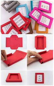 best diy picture frames and photo frame ideas paper frames how to make cool