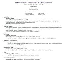 Resume Template For A Highschool Student Resume Builder Resume And