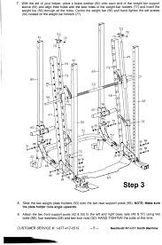York 2600 Mega Gym And Exercise Chart York 2600 Mega Gym Assembly Instructions