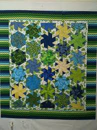 25 best Quilts - 60 Degree Triangles images on Pinterest ... & 60 degree triangle quilt ideas Adamdwight.com