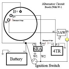 alternator diagram wiring alternator image wiring honda 4 wire alternator wiring diagram honda auto wiring diagram on alternator diagram wiring