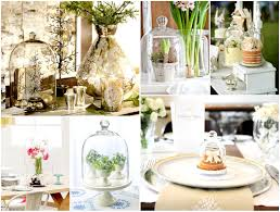 decoration for table. Glass Bell Jars Decoration For Table