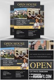 Flyer Template Open House 2 Real Estate Ref Pinterest Open