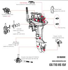 Calon Gloria 15hp Gasoline Motor 2 Stroke Outboard Motor Engine