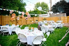 Do It Yourself Style Backyard Wedding  Rustic Wedding ChicBackyard Wedding Diy