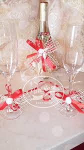 Champagne Bottle Decoration Rustic Wedding Glasses Decoration And Champagne Bottle Decoration