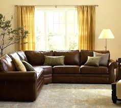 excellent pearce leather 3 piece l shape sectional with wedge l shaped leather couch u shaped