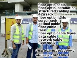 Cable Installation Job Fiber Optic Cable Duba I056 157 2125 Uae Mobile