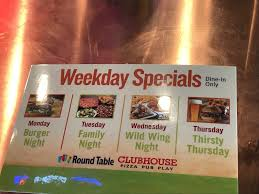 photo of round table pizza clubhouse citrus heights ca united states weekday