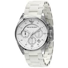 25 best ideas about armani watches for men armani buy emporio armani classic white women s chronograph watch uk