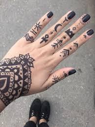 Henna Tattoo Without Henna Ayeehales тату татуировки маркером