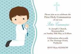 first communion invitation templates free printable first communion invitations formatted templates example