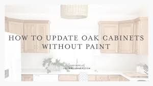 Pickled cabinets, also referred to as whitewashed or the process of staining wood white pickled kitchen cabinet refinishing can be an inexpensive way to update your cabinets with a classic look. How To Transform Oak Cabinets Without Painting Them Youtube