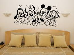 baby disney characters mickey minnie nursery children s decal wall art sticker