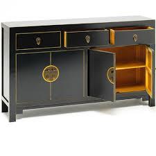 oriental inspired furniture. Large Oriental Style Black Sideboard Inspired Furniture E