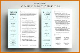 9 10 Two Column Resume Template Word Juliasrestaurantnjcom