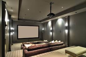 home theater floor lighting. home theater wall sconces contemporary with high ceiling sconce fixture hardwood floor carpet lighting n