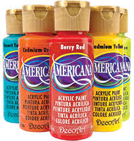 Americana Acrylic Paint Color Chart Americana Acrylics Colors Available Because I Keep