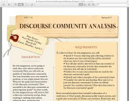 community analysis essay example discourse community analysis essay example
