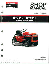 honda ht3813 ht4213 lawn tractor shop manual repair manuals online honda ht3813 ht4213 lawn tractor shop manual 003