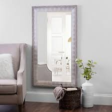 floor mirror. Perfect Mirror White And Silver Foil Wall Mirror 315x555 In Inside Floor Mirror