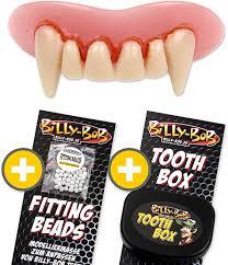 Billy-Bob.de Vampire Komfort-Pack: Zähne, Extra-Putty und ...