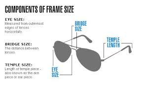 Ray Ban 2132 Sizes Charts Australia Ray Ban Sunglasses Sizing Guide 14582 B6096