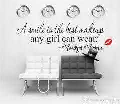 Großhandel Wandaufkleber Zitate Marilyn Monroe Lippen Ein Lächeln