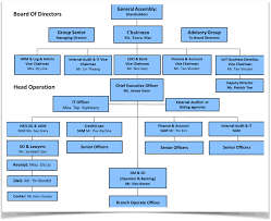 Organization Chart Seed Commerce Co Ltd