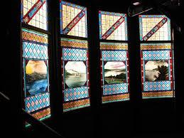 geneva lake museum of history stained glass windows from crane estate jerseyhurst