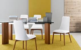 cslh etoile leather dining chair calligaris italy