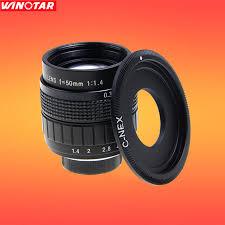 sony 50mm 1 4. fujian cctv 50mm f1.7 lens c mount for sony e:nex3 nex- 1 4