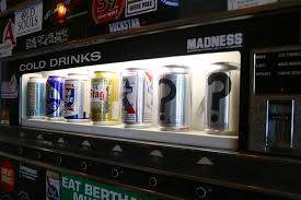 Beer Can Vending Machine Simple HiDive Lounge's Beer Vending Machine Is A Proven Draw Recommended