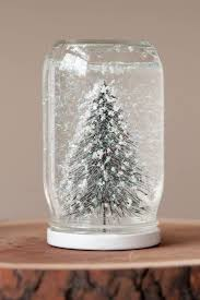 diy snow globes from entertaining blog cydconverse easy crafts cocktail recipes