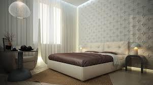 elegant bedroom wall designs. Modern-elegant-bedroom-architecture-interior-white-textured-wall- Elegant Bedroom Wall Designs