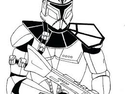 Clone Trooper Helmet Drawing At Free For Personal Star Wars Clone