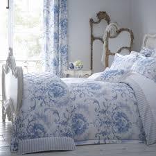 Blue Toile Bedroom Ideas