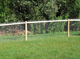 image of outdoor pet fence diy