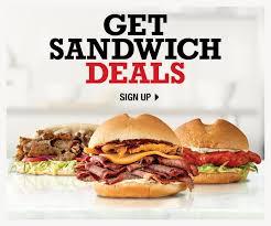get sandwich deals
