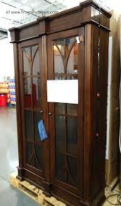martin furniture glass door lighted