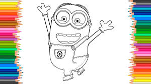 Despicable Me 3 Coloring Pages L Happy Minion Coloring Book For Coloring Book 3 L
