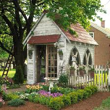 Small Picture A Gallery of Garden Shed Ideas Gardens Architectural salvage