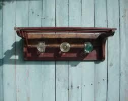 Knob Coat Rack Architectural Salvage Coat Rack Rustic Coat Rack Antique 73