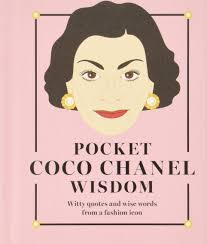 Pocket Coco Chanel Wisdom Witty Quotes And Wise Words From A