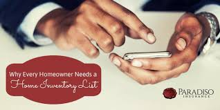 Why Every Homeowner Needs A Home Inventory List Paradiso